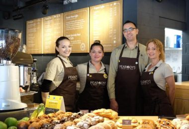 peabodys coffee opened in Central London